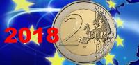 2 euros conmemorativos 2018