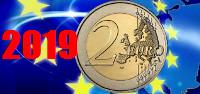 2 euros conmemorativos 2019