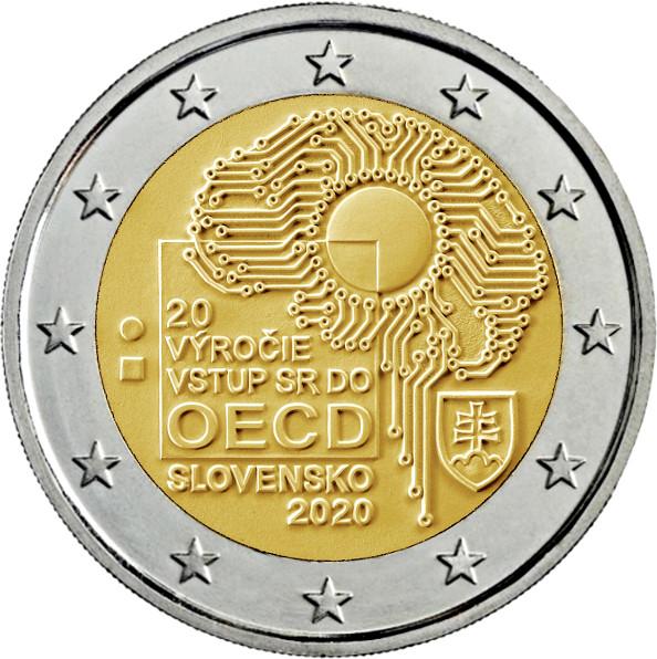 Así Lucirá La Moneda De 2 Euros Cc Eslovaquia 2020 Numismatica Visual