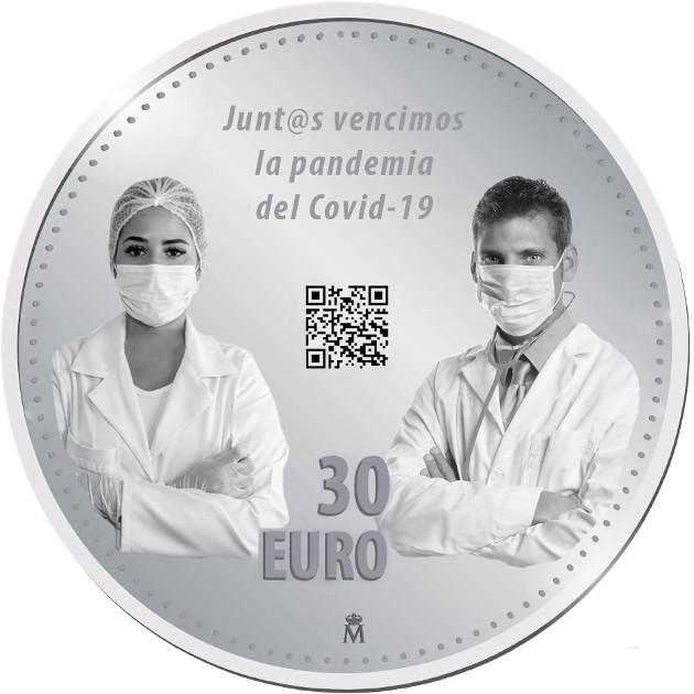 Diseños 30€ Covid-19. Propuestas para la FNMT 3d