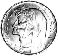 500 Lire Argento Repubblica Italiana Numismatica Europea