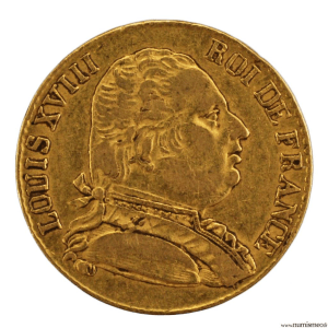 Louis XVIII 20 francs 1815 Londres
