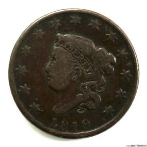 USA 1 cent 1819