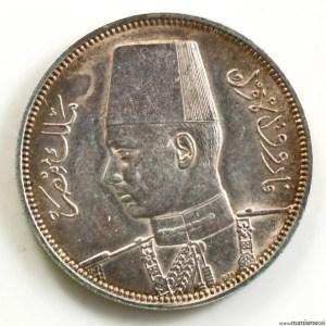 Egypt AR 5 piastres 1358