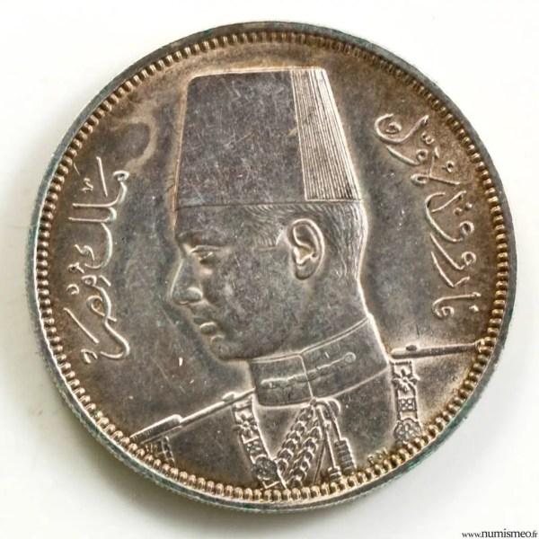 Egypte 5 piastres 1358