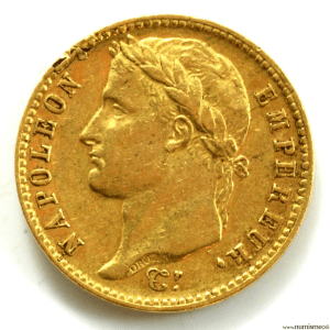 Napoleon I 20 Francs 1814 Paris