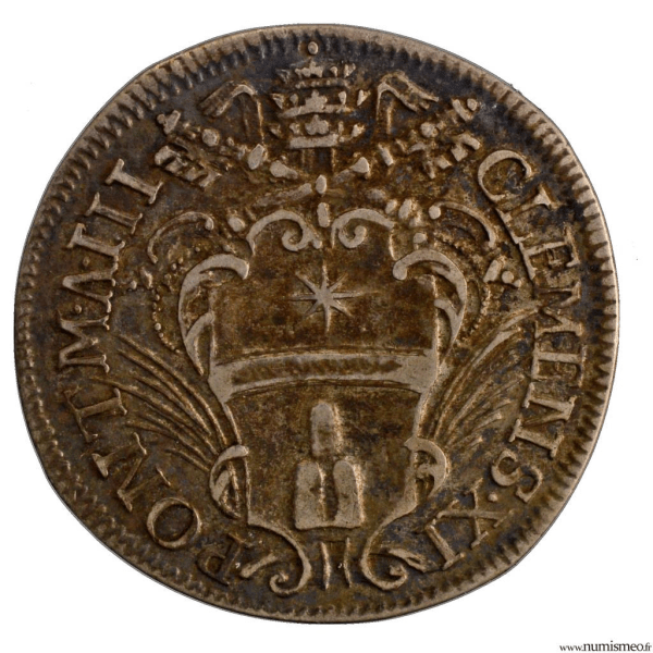 Etats Pontificaux Clement XI Giulio 1703