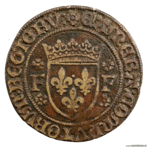 Francois I Jeton de la chambre des comptes du roi