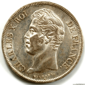 Charles X 5 Francs 1830 Lille