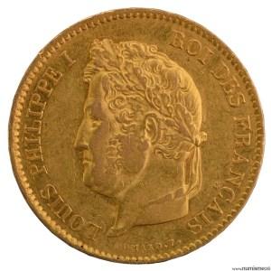 Louis Philippe 40 francs 1831 Paris