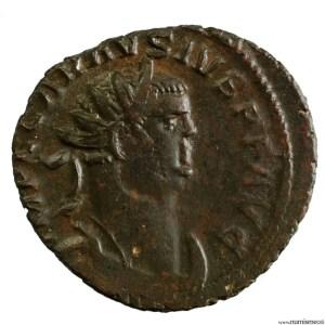 Carausius aurelianus frappé à Londres