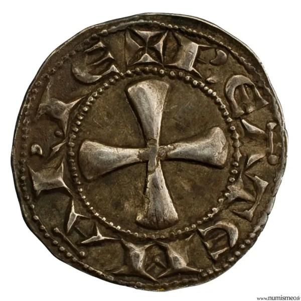 Auvergne denier de l'évéché du Puy