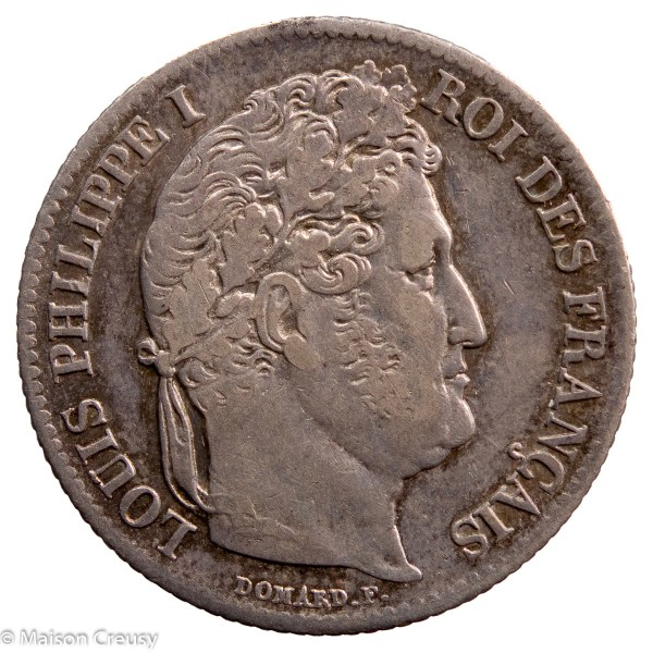 Louis Philippe AR franc 1841 Rouen