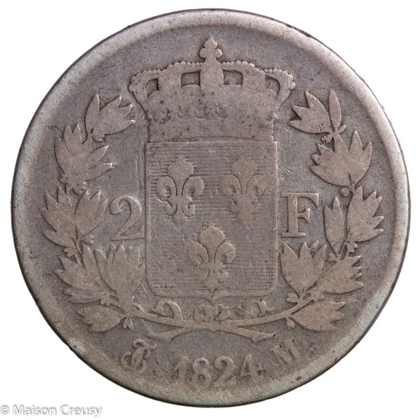 LouisXVIII-2francs1824M