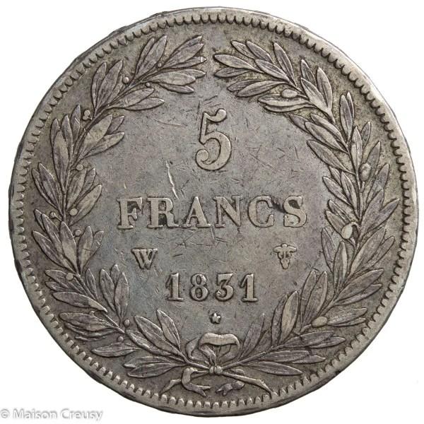 LP-5francs1831W