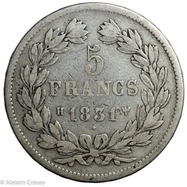 LP-5francs1831H