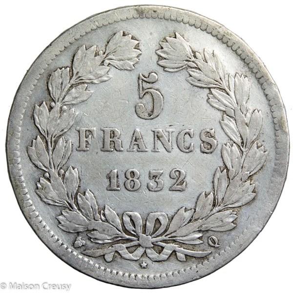 LP-5francs1832Q
