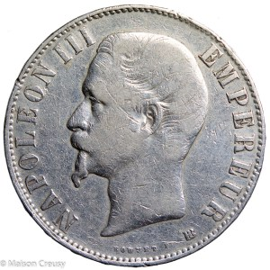 NapIII-5francs1855BB