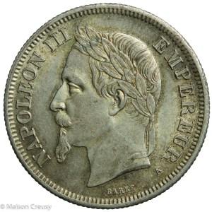 NapIII-2francs1869A