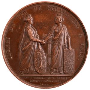 Louis Philippe Médaille pour les chemins de fer de Strasbourg