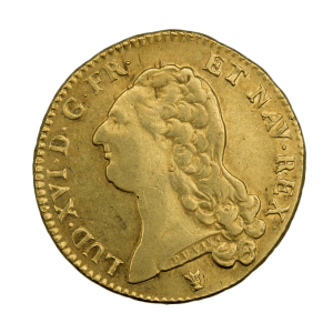 Louis XVI Double louis 1786 Limoges