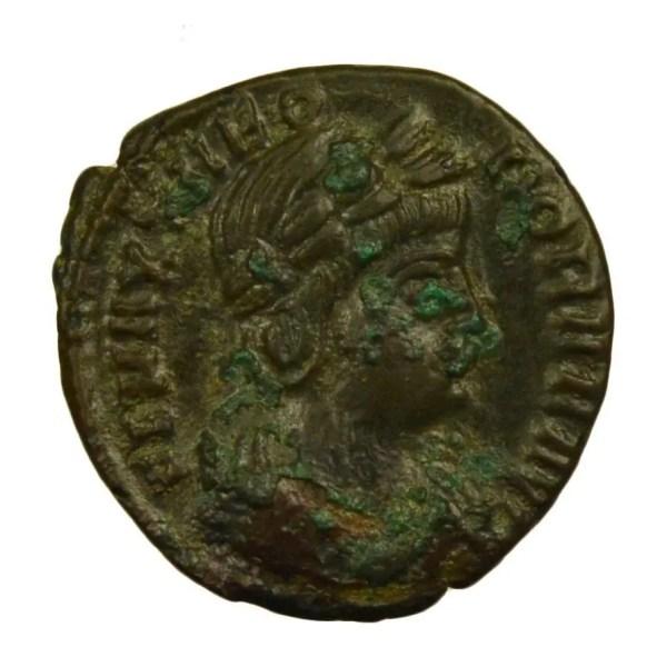 Theodora frappé à Treves en 337-340