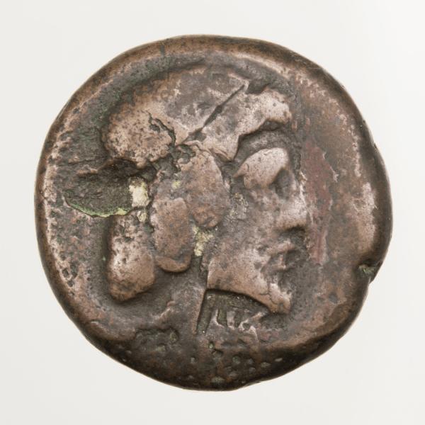 Characene Attambelos IV tetradrachme bronze