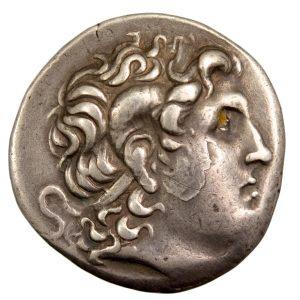 Lysimachos AR Tetradrachme 297-281 BC