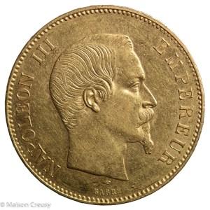 Napoléon III 100 francs 1855 Paris