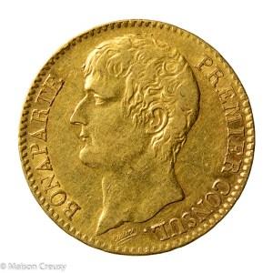 Nap I 40 francs An 12 A