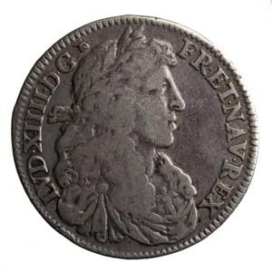 LouisXIVQuartEcu1666A
