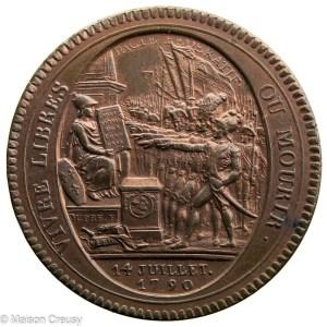 Révolution monneron de 5 sols An IV 1792