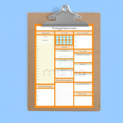 dagplanner printable