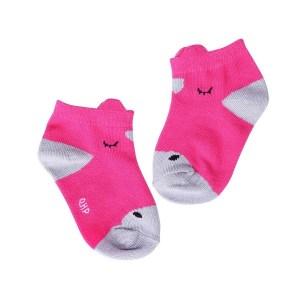 Lasten nillkasukat, QHP Söpöt nilkkasukat pienille heppafaneille. Sukat myydään pareittain sekä niiden mukana tulee oveen ripustettava heppakyltti.