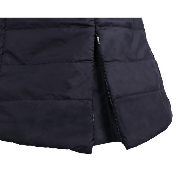 Kevyttoppaliivi, QHPUrheilullinen kevyttoppaliivi jonka kyljissä on verkot sekä vetoketju taskut.Takana vetoketjulla avattava halkio