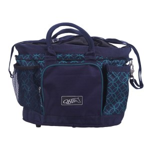 Harjalaukku, Qhp Tilava harjalaukku jossa on paljon erillaisia taskuja joka mahdollistaa erillisen taskun kaikille purkeille.