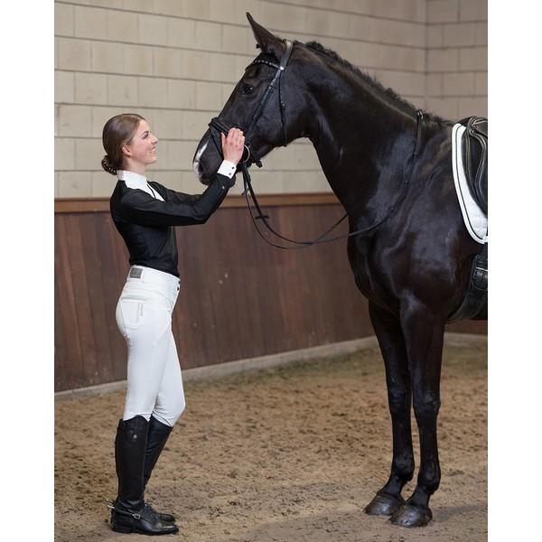 Ratsastushousut Lott, Qhp Täydelliset ratsastushousut ratsastajalle, joka rakastaa kimallusta.Korkeavyötäröiset ratsastushousut