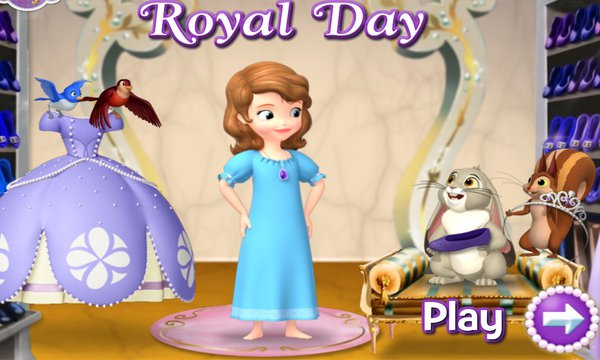 Sofia The First Dress For A Royal Day Numuki