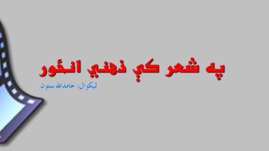 Photo of په شعر کې ذهني انځور