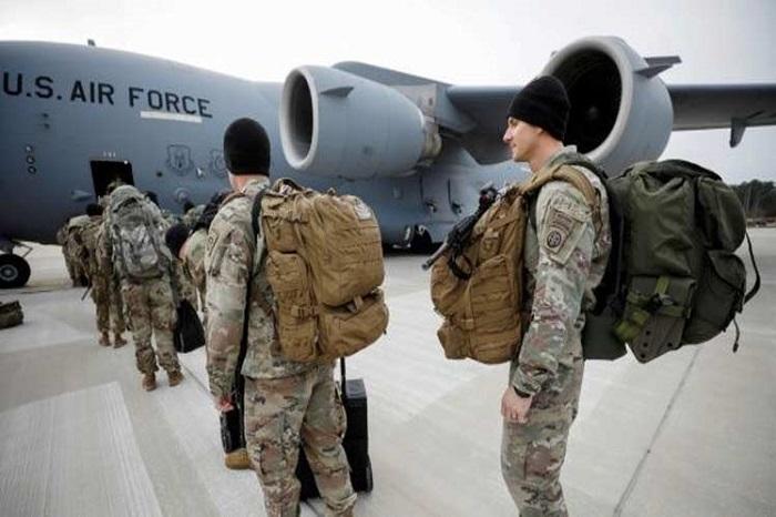 امریکايي عسکر له افغانستانه د وتلو په حال کې دي