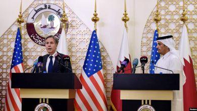 د امریکا او قطر د بهرنیو چارو وزیران