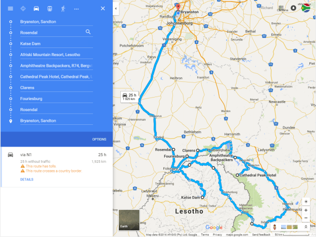2016-01-06 20_14_39-Bryanston, Sandton to Bryanston, Sandton - Google Maps