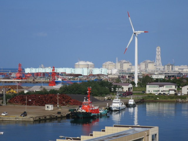 直江津LNG基地・中電火力発電所を視察