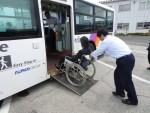 車いす使用の障がい者の路線バス利用で実地調査【その1】
