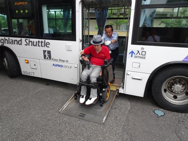 車いす使用の障がい者の路線バス利用で実地調査【その2】