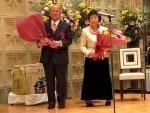 松木茂盛市議の在職50年を祝う会