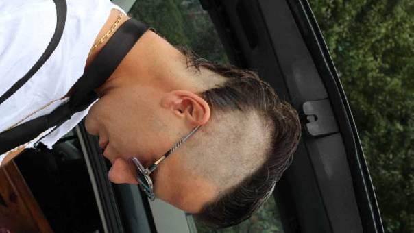 ortrait Nunsu artiste crâne rasé dans le clip Pôle Emploi du rappeur français Nunsuko