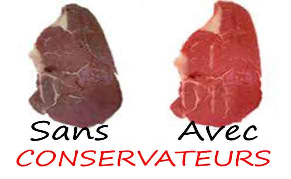 conservateurs alimentaire additif antioxydant edulcorants