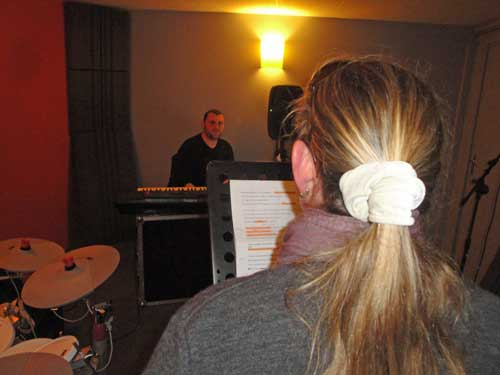 Dann Musique de Rochefort accueille des artistes pour répéter et être encadré par un coach