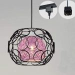 Kiven H Type 3 Wire Track Light Pendants Length 4 9 Feet Restaurant Chandelier Decorative Chandelier Instant Pendant Light Bulb Not Include Handmade Rattan Ball Pendant Lamp Tb0258 B Purple Nunu Lamp Online Shopping